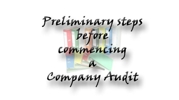 preliminary-steps-before-commencing-a-company-audit