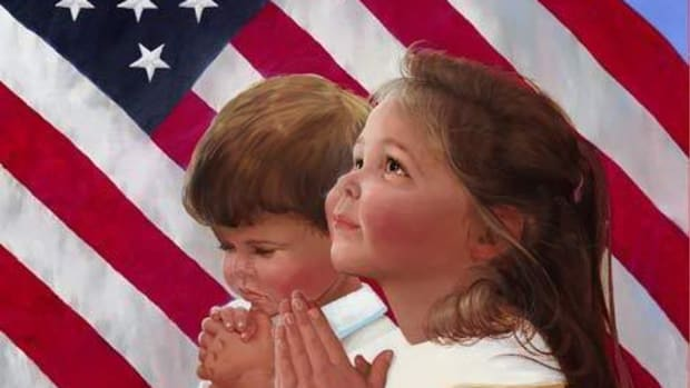 Today, public prayer is forbidden in our nation's schools.