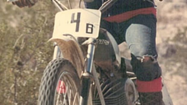Me on my 69 Penton 125.  Check out my gear.
