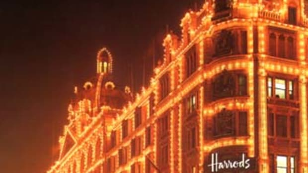 Harrods  Knightbridge  London