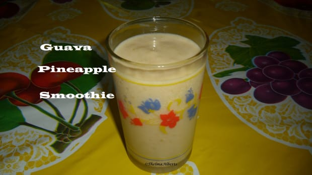guava-pineapple-smoothie