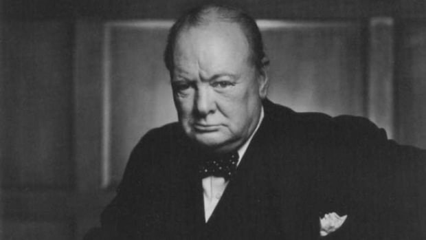artists-who-started-late-in-life-winston-churchill