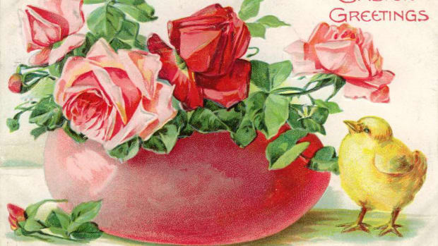 Please scroll down to see all the floral vintage Easter cards