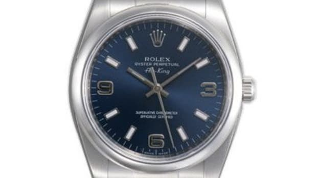 A beautiful Rolex watch.