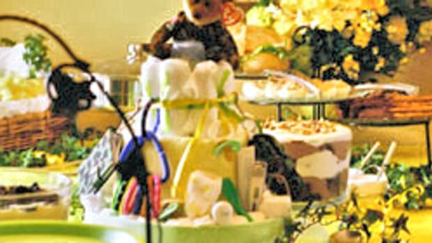 baby-shower-buffet-table-decorations-set-up