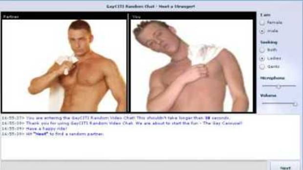 Gay Chat Roulette Window