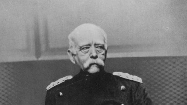 The Iron Chancellor.