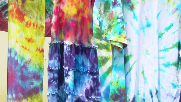 Clothes I tie-dyed for my family