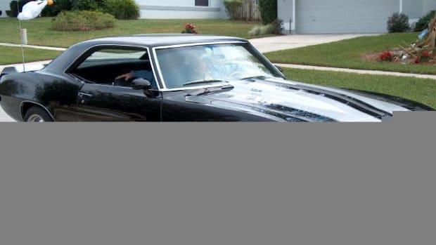 1. 1969 Chevrolet Camaro