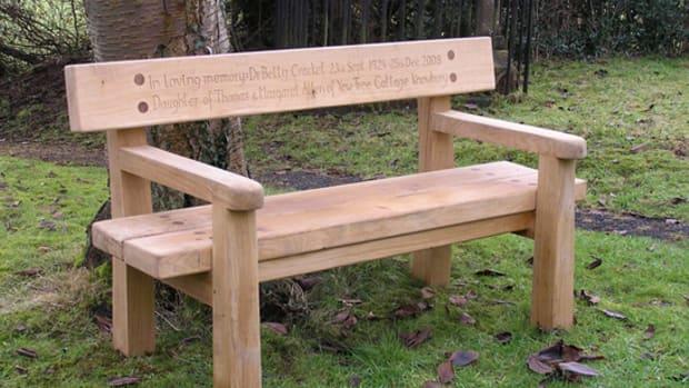 memorial-benches