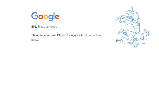 google-services-are-down