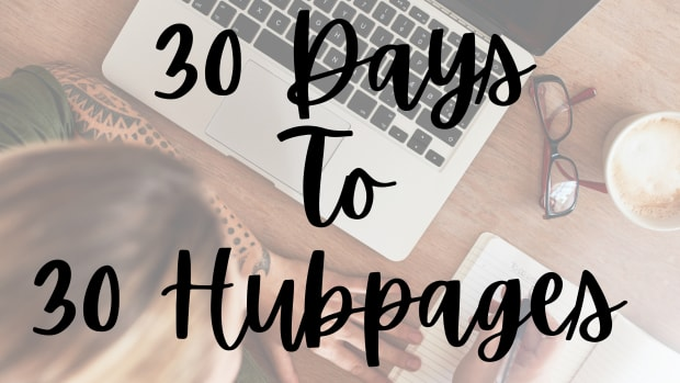 30-days-to-30-hubpages