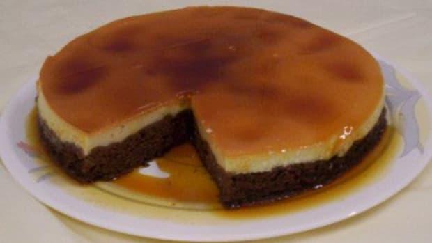 chocolate-cake-with-creme-caramel
