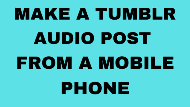 how-to-make-a-tumblr-audio-post-from-a-mobile-phone
