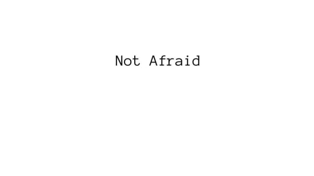 182nd-article-not-afraid