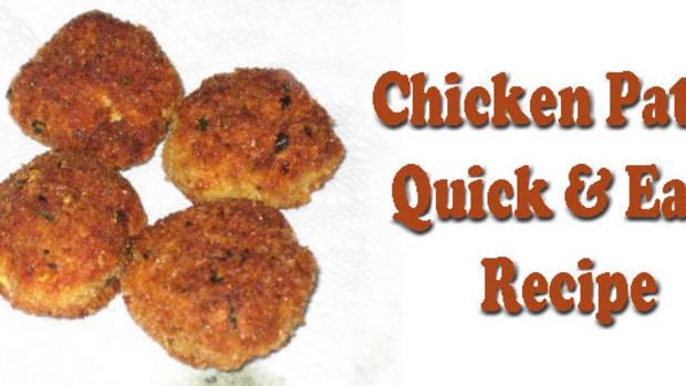 chicken-patty-quick-easy-recipe