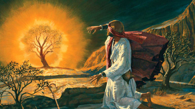 Moses, called of God to be the Deliverer.