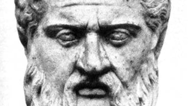 The philosopher Plato