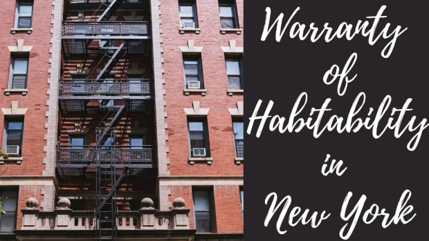 租户 - 权利-101  - 纽约州的保修 - 居住地