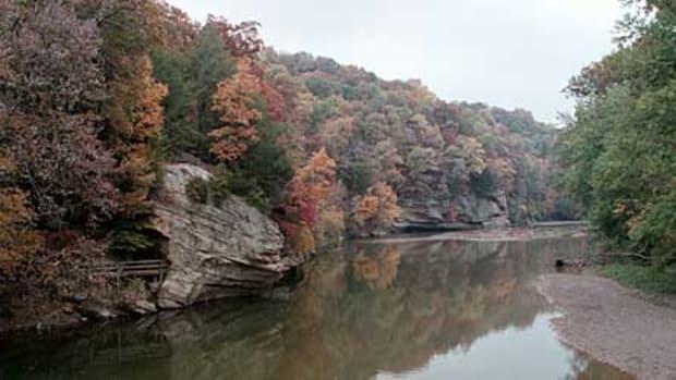 Sugar Creek at Turkey Run State Park