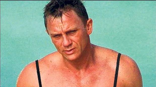 Do you think 99% of women would leave James Bond because he occasionally wears a bra? Methinks not...