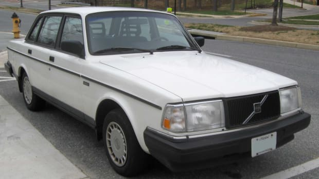 Early 90's Volvo 240