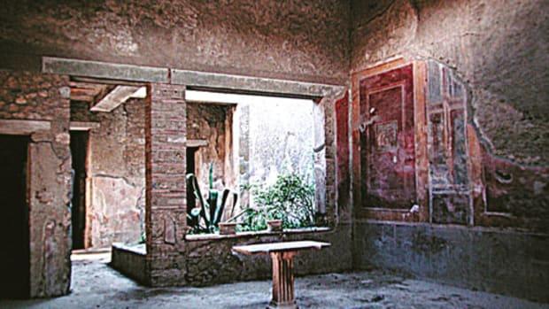 The home of Fabius Amandus, in Pompeii.