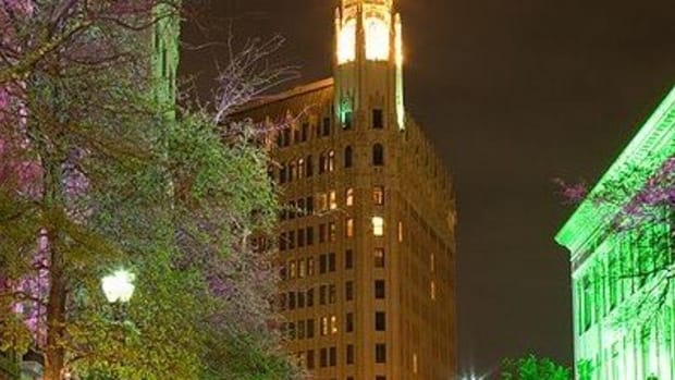 The Emily Morgan Hotel in San Antonio, Texas
