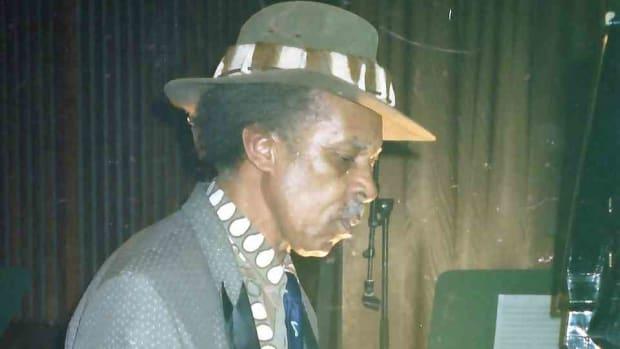 Pat Matshikiza, South African pianist (Photo Tony McGregor)