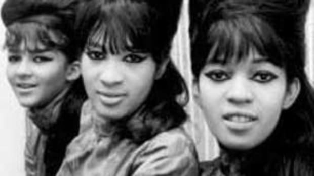 The Ronettes show off their coiffures.