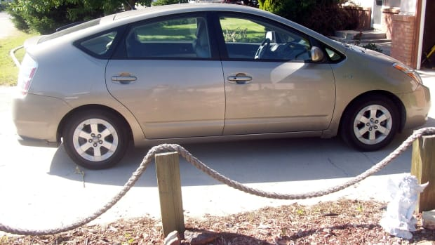 """Sandy"", our 2006 Prius"