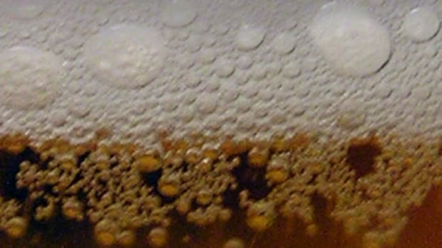 Dry ice carbonates the soda.