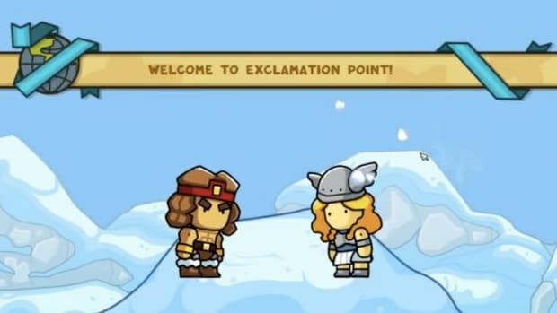 scribblenauts-unlimited-walkthrough-exclamation-point-and-pilcrow-peaks