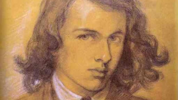 Rossetti, self-portrait as a young man, 1847. Courtesy of Wiki Commons
