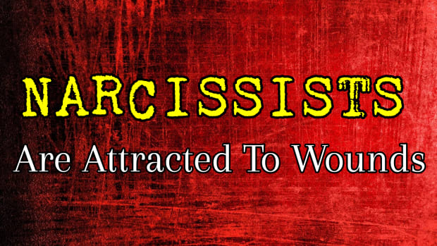 narcississts-are-attracted-to-wounds