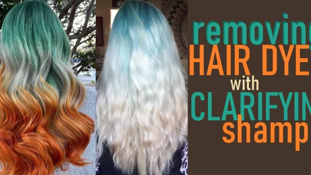 removing-hair-dye-with-clarifying-shampoo