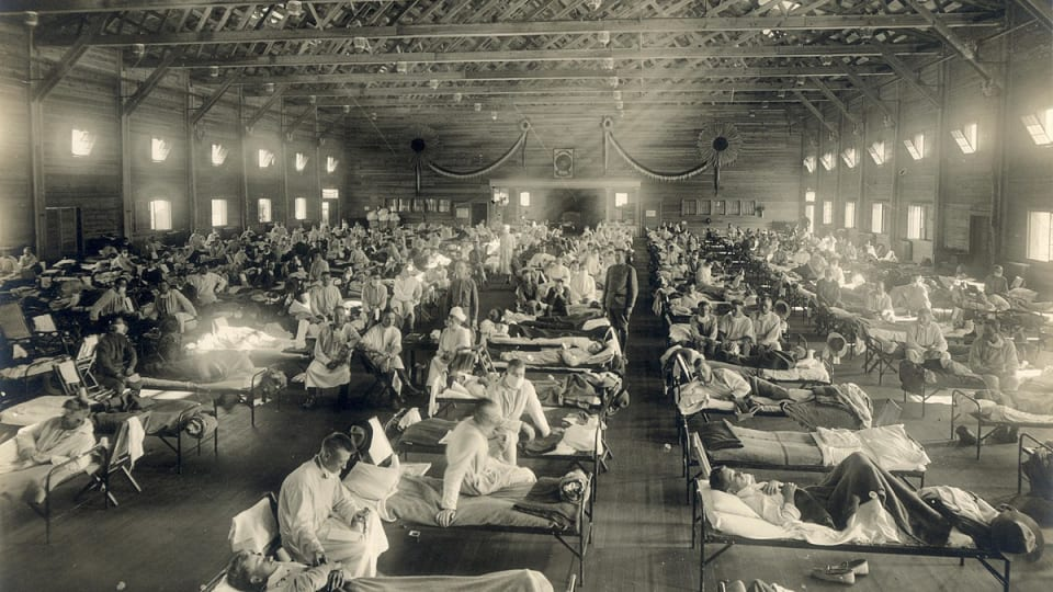 Timeline of the 1918 Spanish Flu Pandemic in America