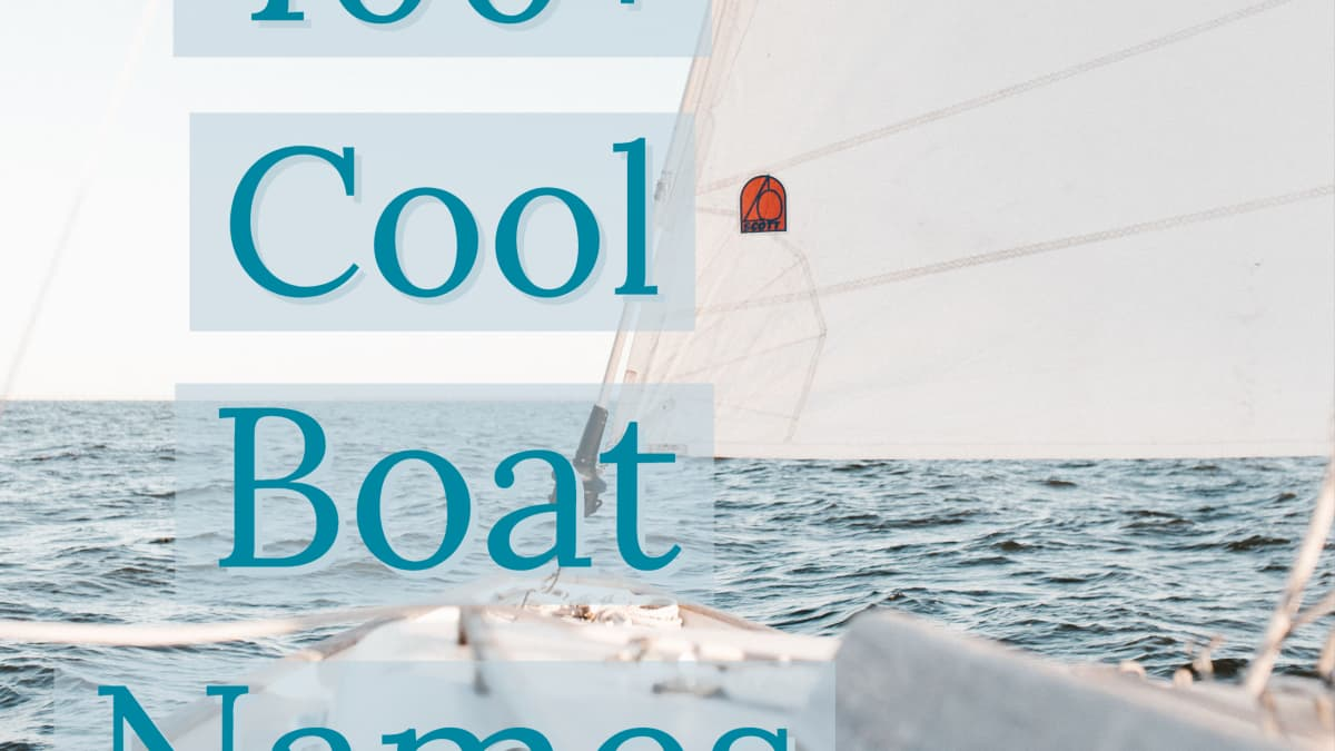 400 Cool And Unique Boat Name Ideas Skyaboveus Outdoors