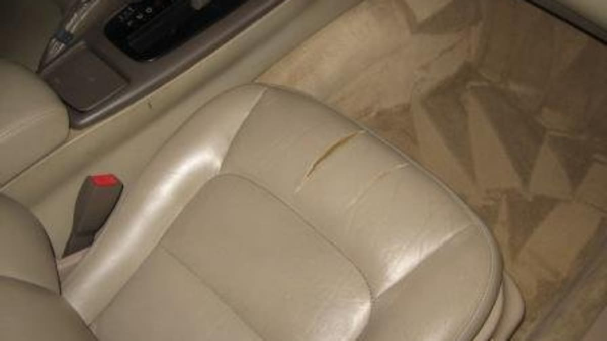 To Repair Leather And Vinyl Car Seats, How To Fix Tear In Leather Seat