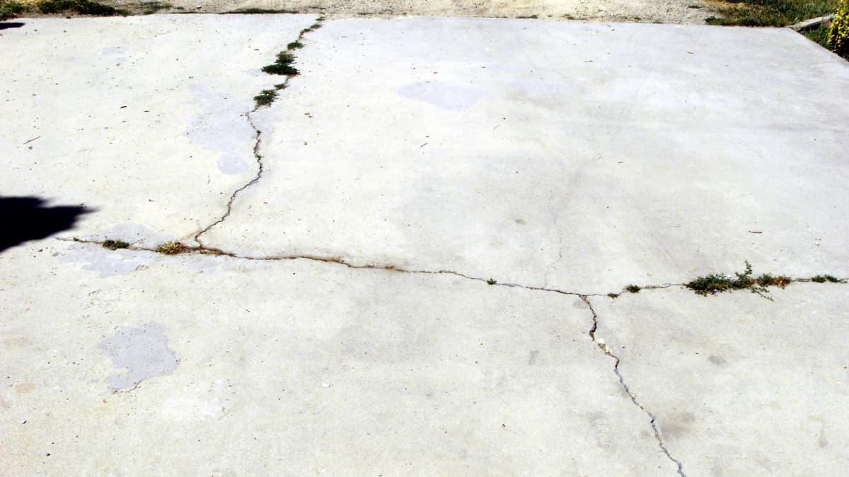 How To Repair Concrete Driveway Cracks Dengarden Home And Garden