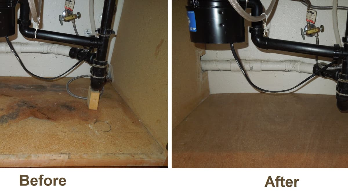 How To Replace Rotted Wood Under A Kitchen Sink Dengarden