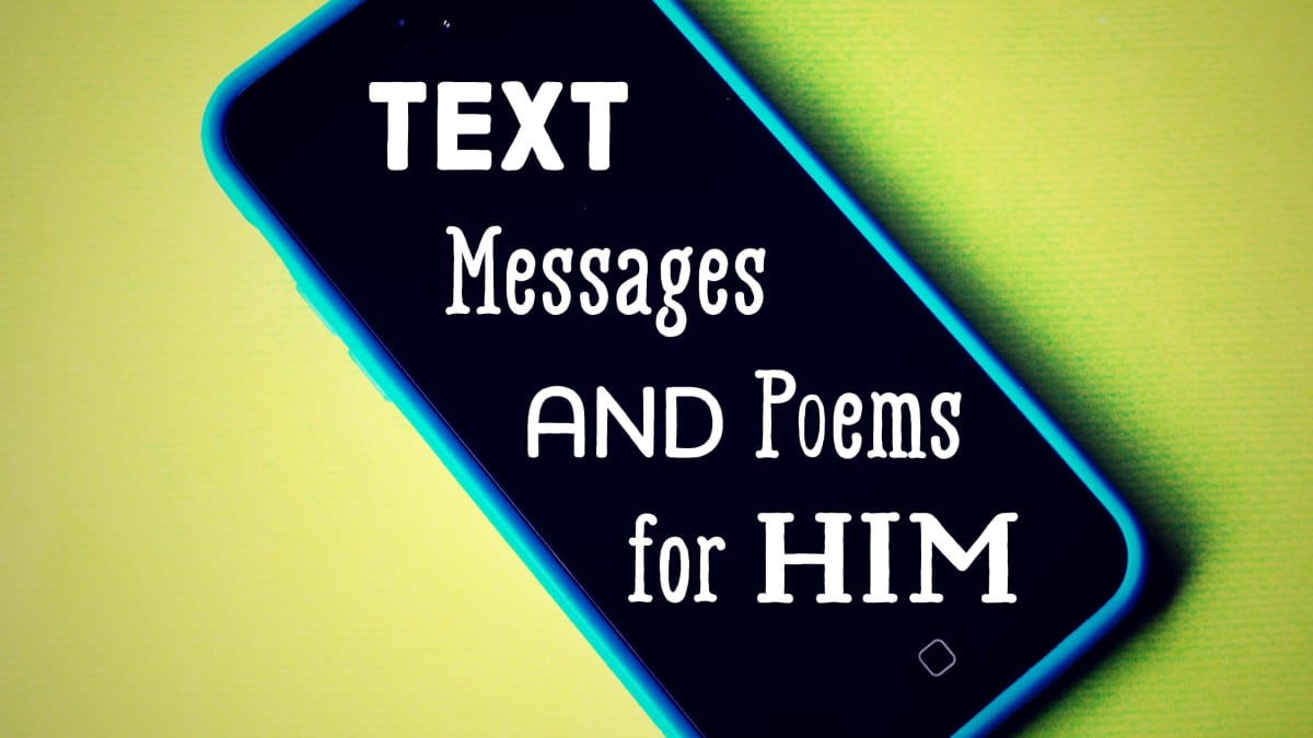 Text messages from him