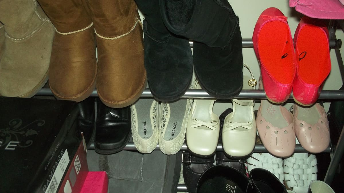 How to Organize Too Many Pairs of Shoes - Dengarden