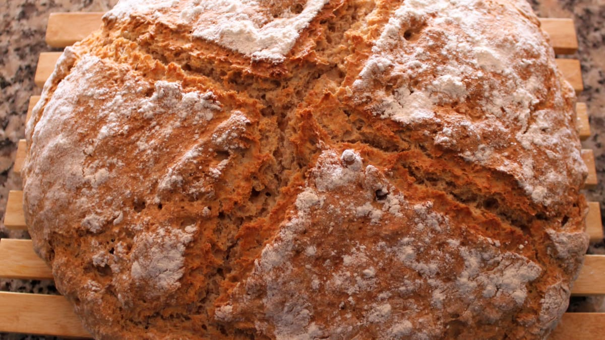 How To Make Brown Soda Bread Step By Step Instructions With Pictures Delishably Food And Drink