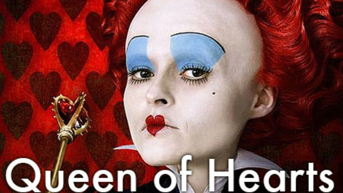 Queen Of Hearts Makeup Ideas And