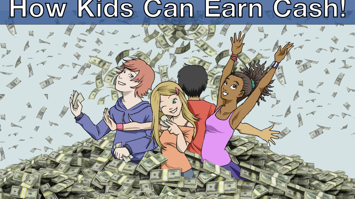 11 Ways 12 13 Or 14 Year Old Middle School Kids Can Earn Money Wehavekids Family