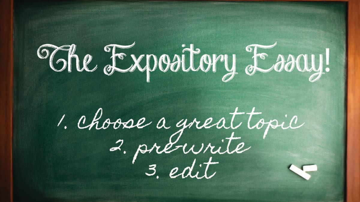 100 Expository Essay Topic Ideas, Writing Tips, and Sample Essays -  Owlcation - Education
