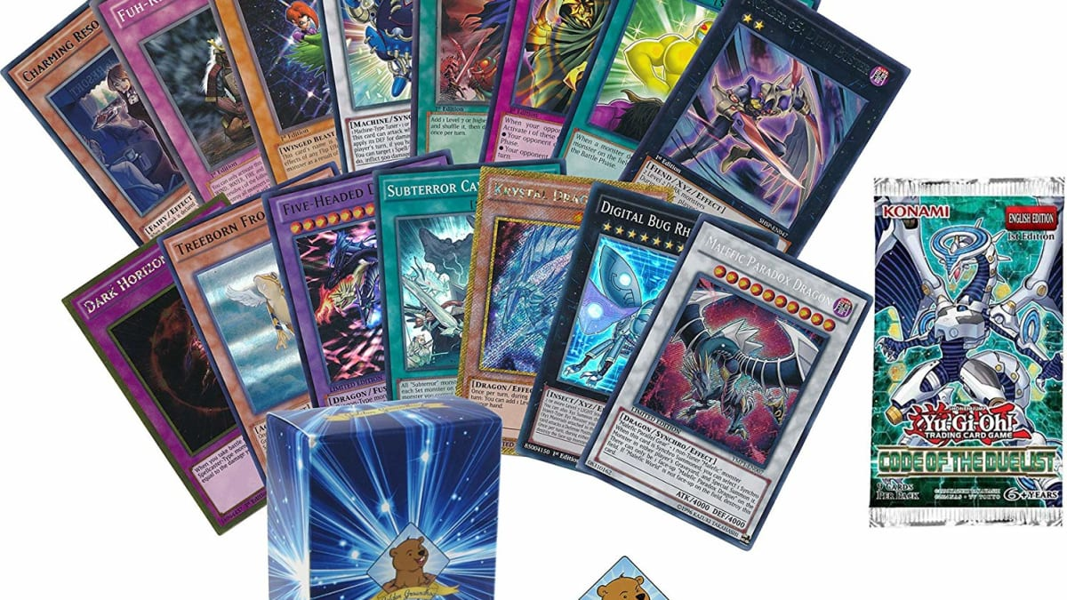 Yu-Gi-Oh 100 Mixed Cards Lot With Rates//Holo