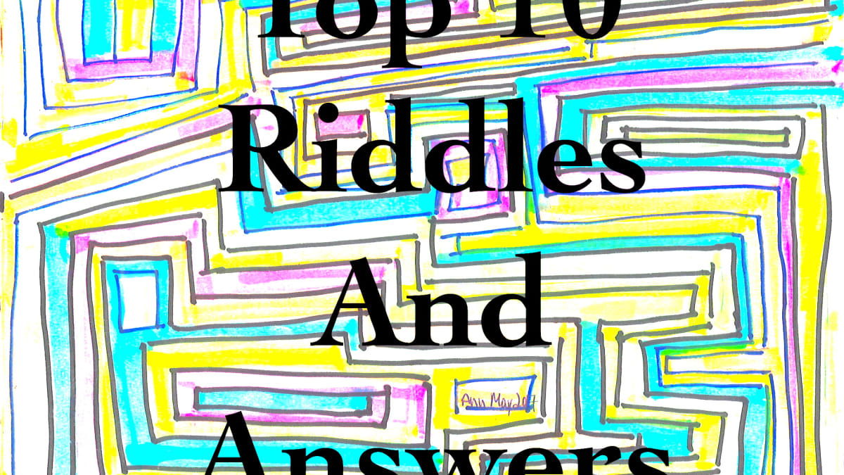Top 10 Best Riddles And Answers Hobbylark Games And Hobbies