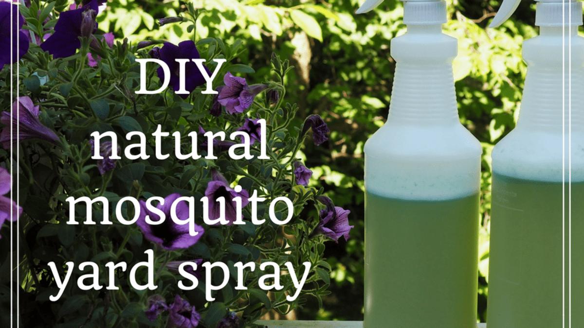 How To Make Homemade Organic Mosquito Yard Spray Dengarden Home And Garden